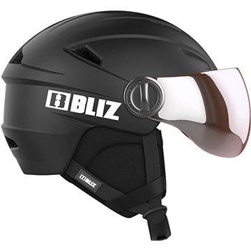 Černá lyžařská helma Bliz