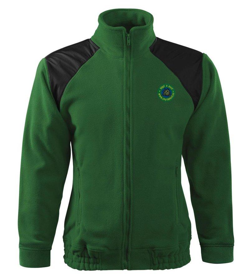 Zelená rybářská bunda Chyť a pusť