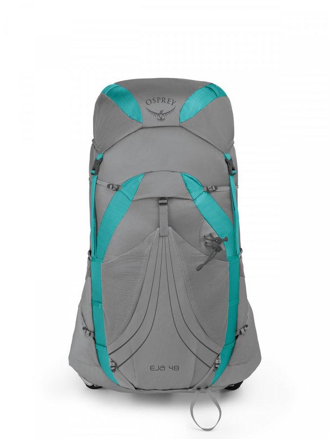 Batoh - Dámský batoh Osprey Eja 48 Velikost zad batohu: M / Barva: šedá