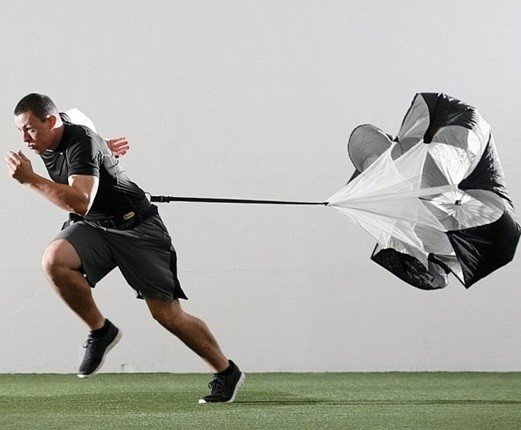 Tréninkový brzdící padák - Potent Hockey Brzdící padák Speed Chute