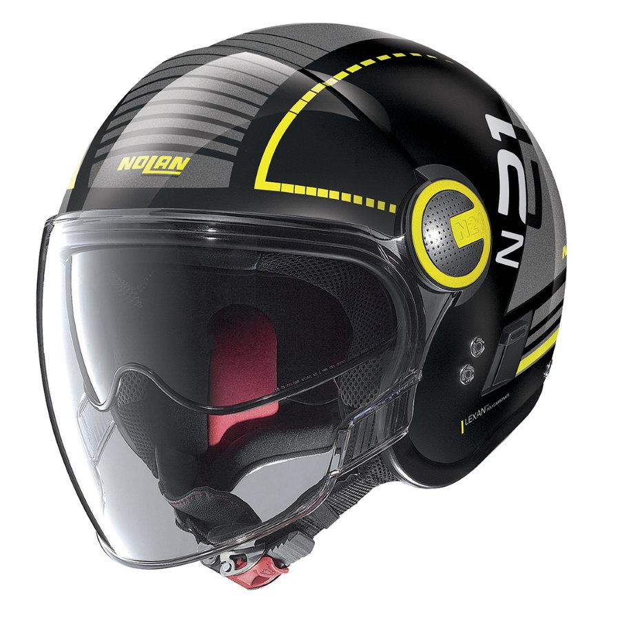 Helma na motorku Nolan