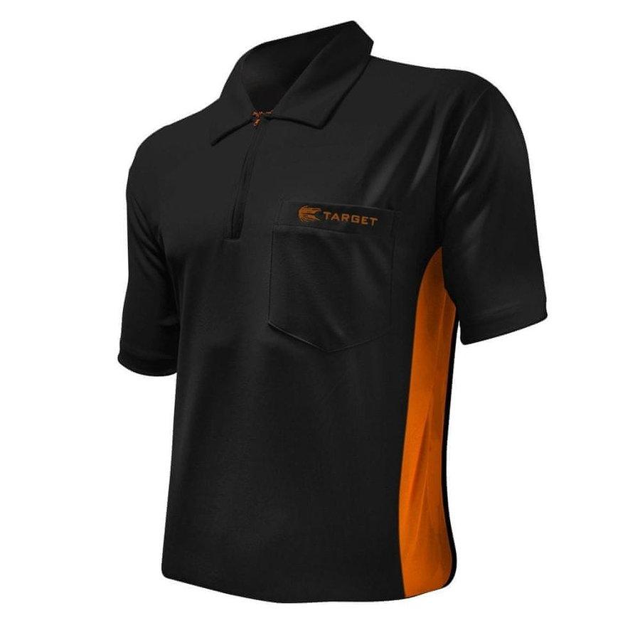 Černý šipkařský dres Target Darts