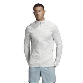 Bílá nepromokavá pánská bunda Adidas