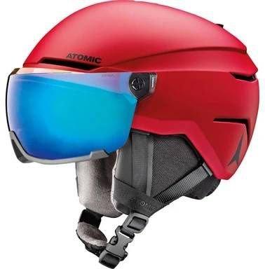 Červená pánská lyžařská helma Atomic