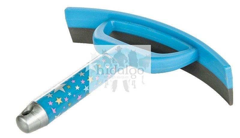 Modrá plastová stěrka na vodu HKM