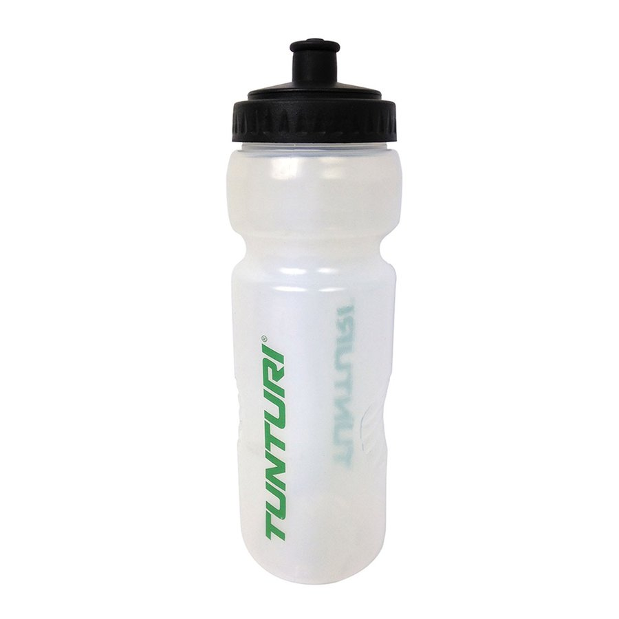 Transparentní sportovní láhev na pití Tunturi - objem 0,8 l