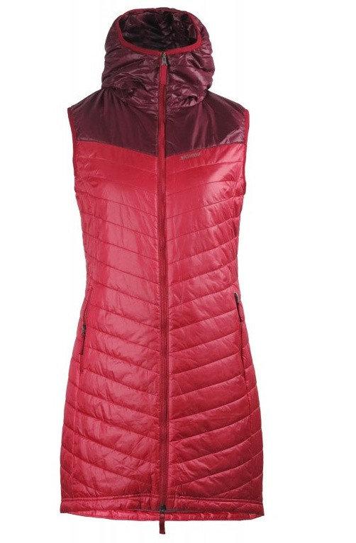 Červená dámská vesta Skhoop
