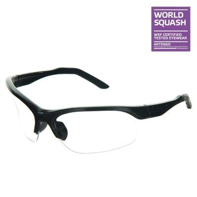 Modré ochranné brýle na squash Opfeel