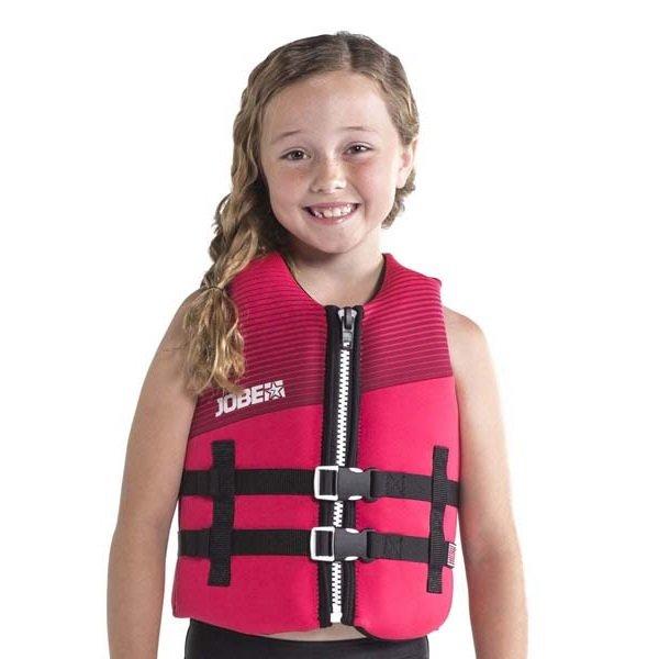Růžová dětská plavecká vesta Jobe