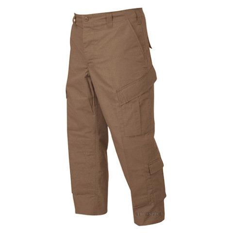 Kalhoty - Kalhoty TRU P/C rip-stop COYOTE