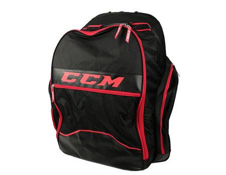 Černo-červená taška na hokejovou výstroj CCM