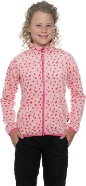Růžová dívčí mikina bez kapuce Sam 73 - velikost 164-170
