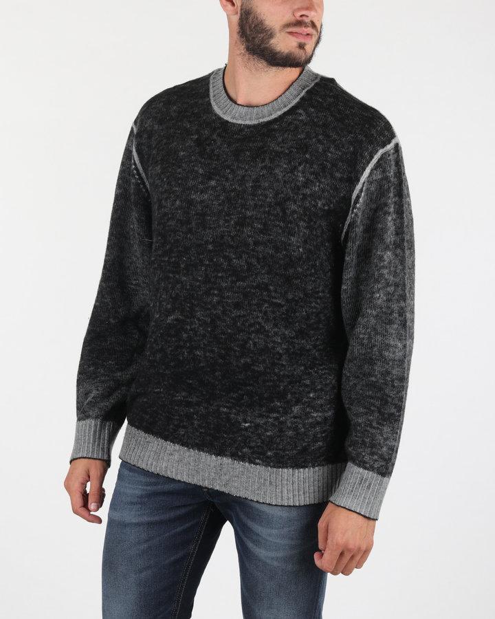 Černý pánský svetr Diesel - velikost S