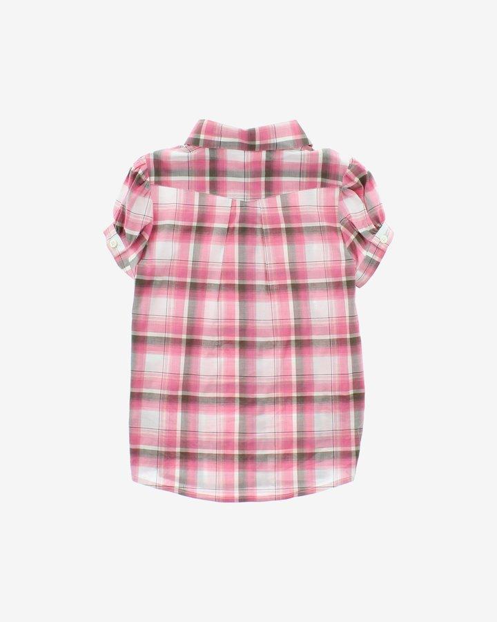 Růžová dívčí košile s krátkým rukávem John Richmond - velikost 116