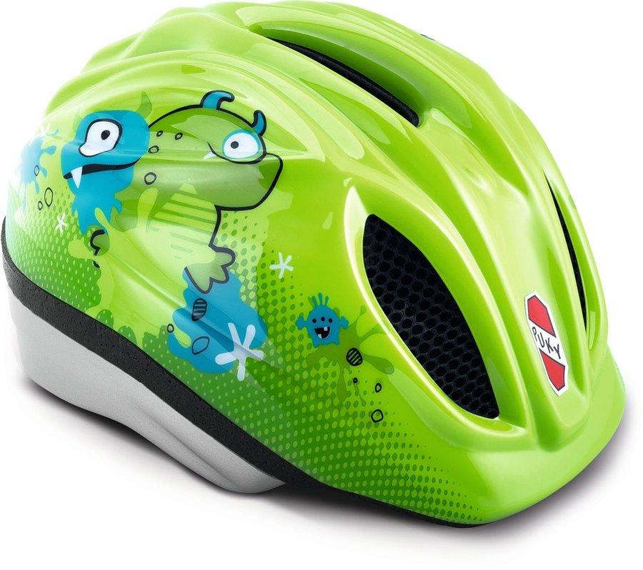 Cyklistická helma - PUKY - Přilba - Kiwi Monster - velikost M / L