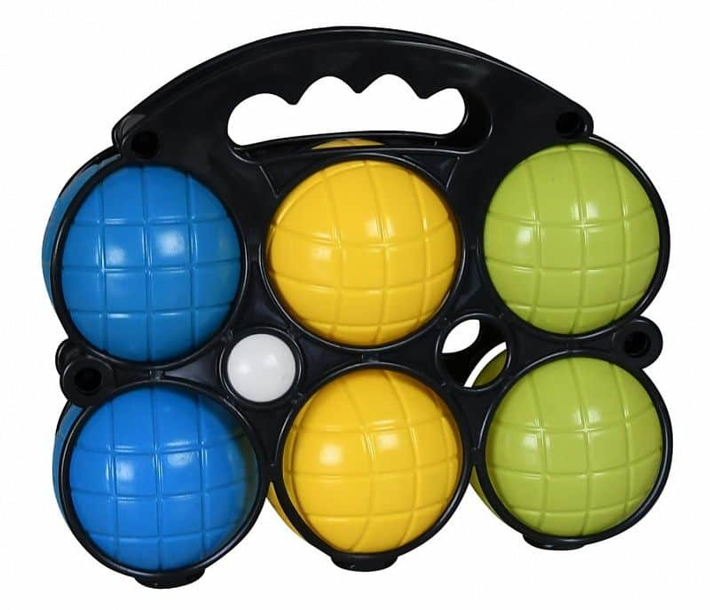 Pétanque SportTeam 6x koule, 1x košonek, 1x obal