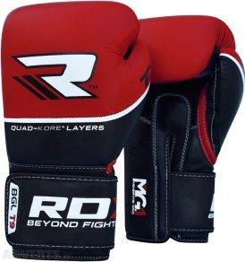 Černo-červené boxerské rukavice RDX - velikost 10 oz