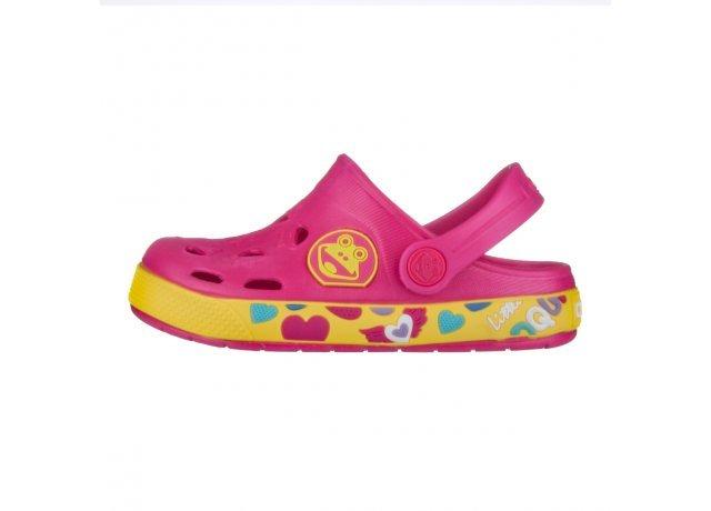 Růžové sandály Coqui
