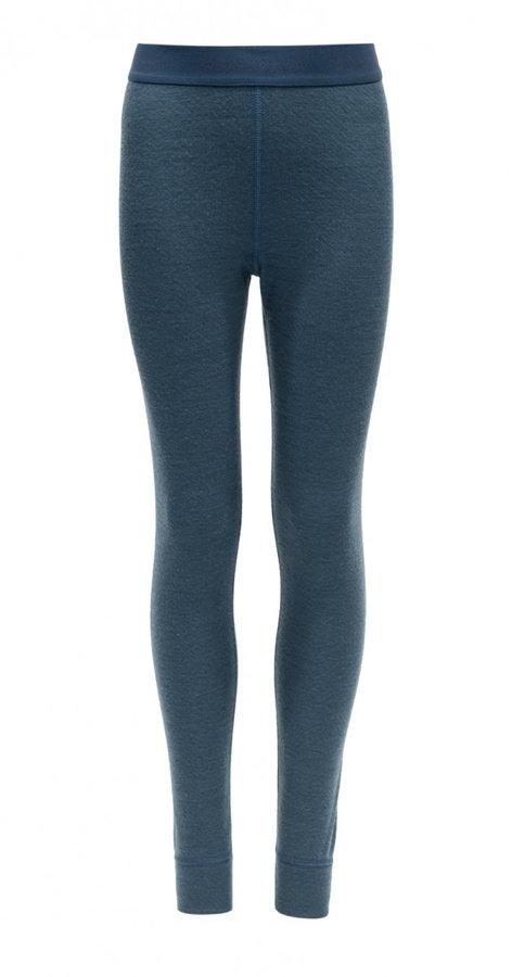 Modré dětské funkční kalhoty Devold