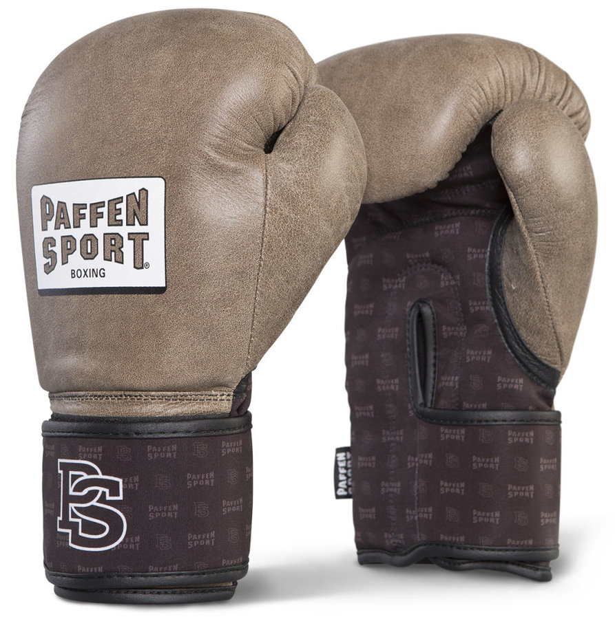 Hnědé boxerské rukavice Paffen Sport - velikost 10 oz