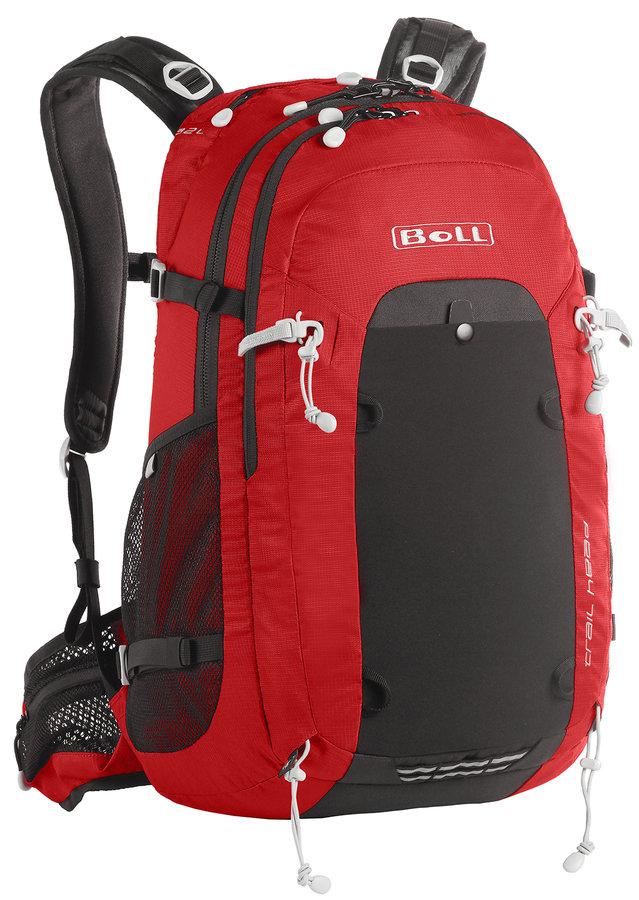 Černo-červený batoh Boll - objem 26 l