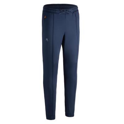 Modré pánské kalhoty na atletiku Kalenji