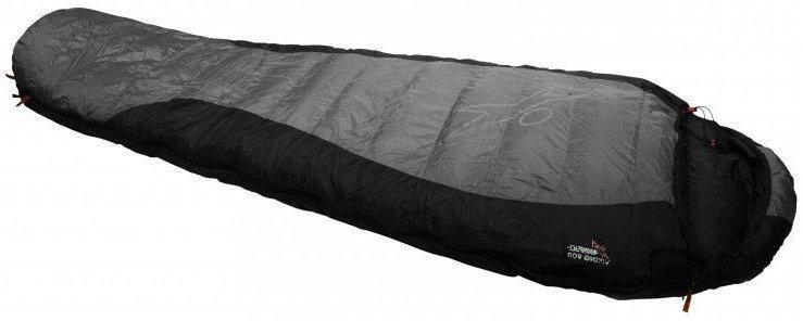 Šedý spací pytel Warmpeace - délka 205 cm