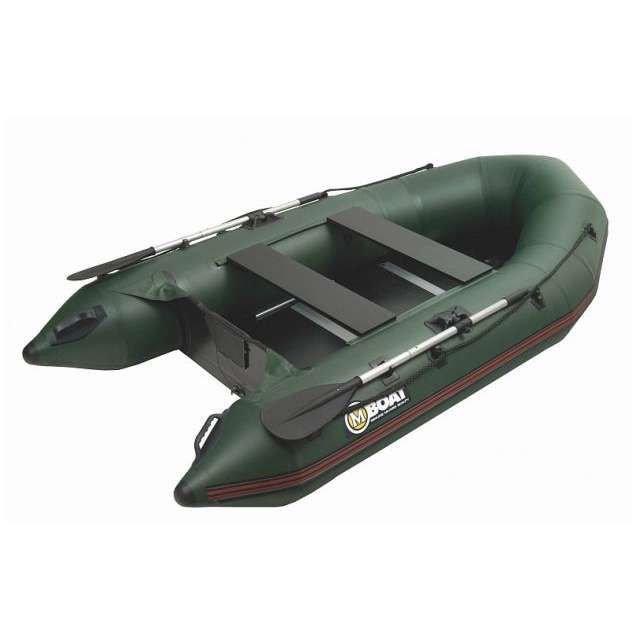 Zelený rybářský člun Mivardi