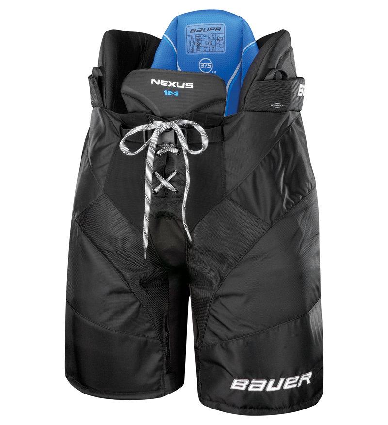 Červené hokejové kalhoty - junior Bauer - velikost XL