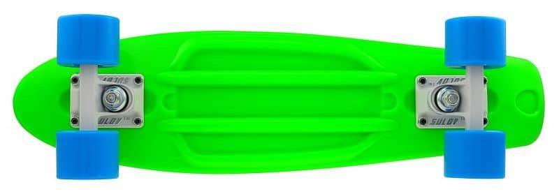 """Pennyboard - Penny board 22"""" SULOV NEON SPEEDWAY zeleno-modrý"""
