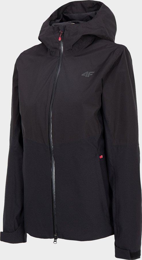 Černá dámská turistická bunda 4F