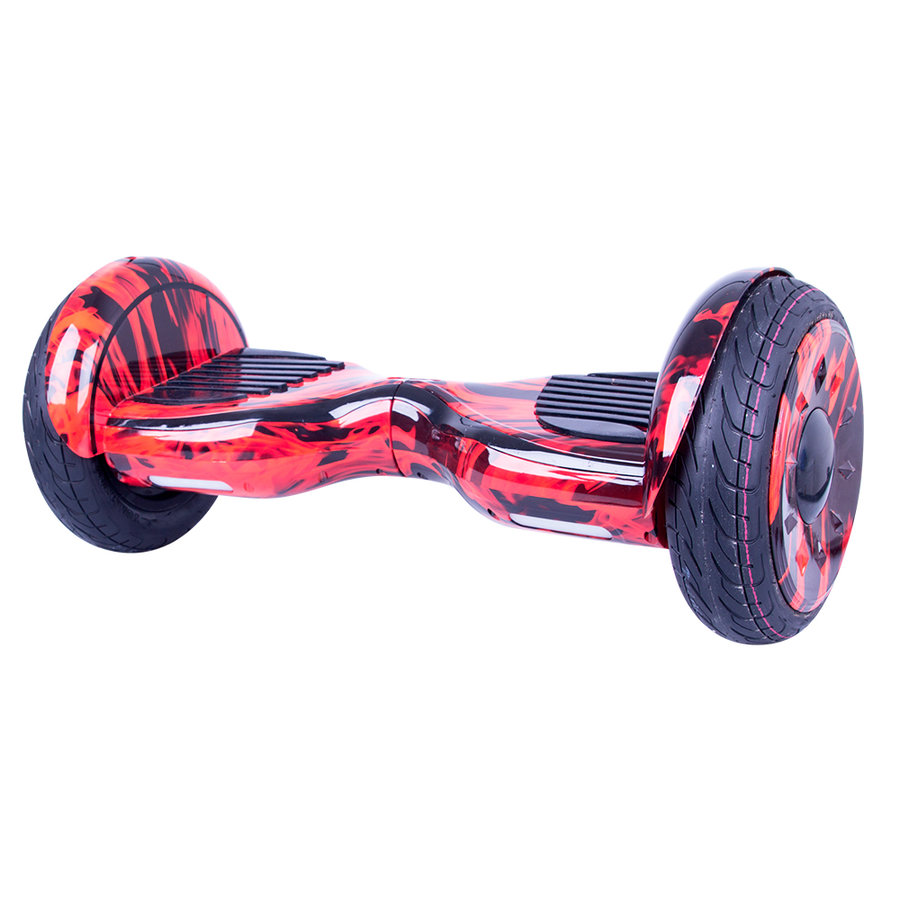 Červený hoverboard EVO Art, Windrunner