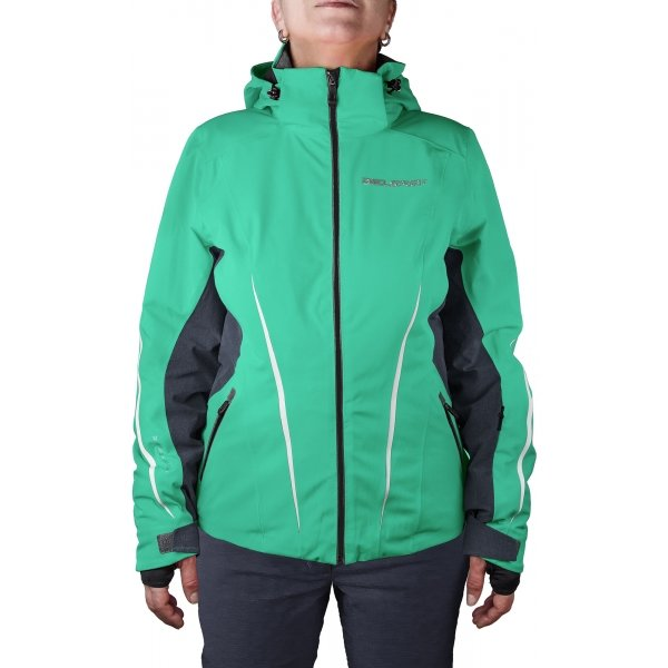 Zelená dámská lyžařská bunda Diel
