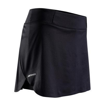Černá dámská tenisová sukně Artengo