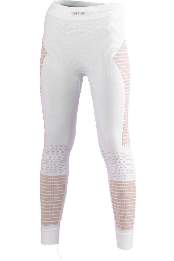 Bílé dámské funkční kalhoty Lasting