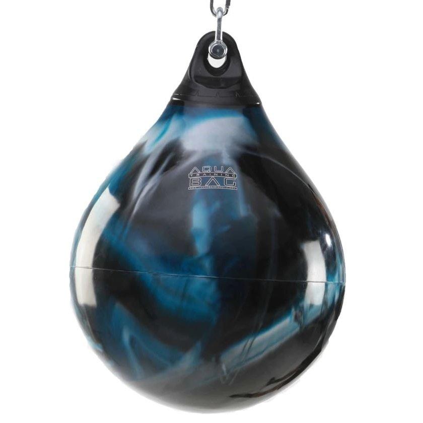 Černo-modrý vodní boxovací pytel Aqua Training Bag - 85 kg