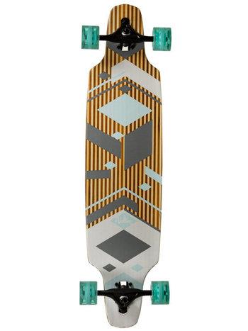 Různobarevný longboard Volten