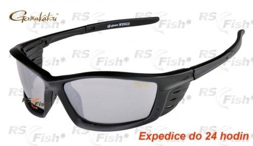 Polarizační brýle - Gamakatsu® Wings Light Gray Mirror