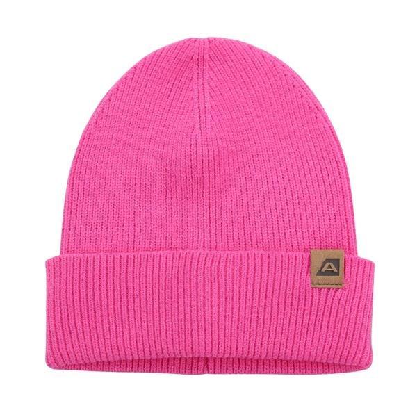 Růžová zimní čepice Alpine Pro - velikost S
