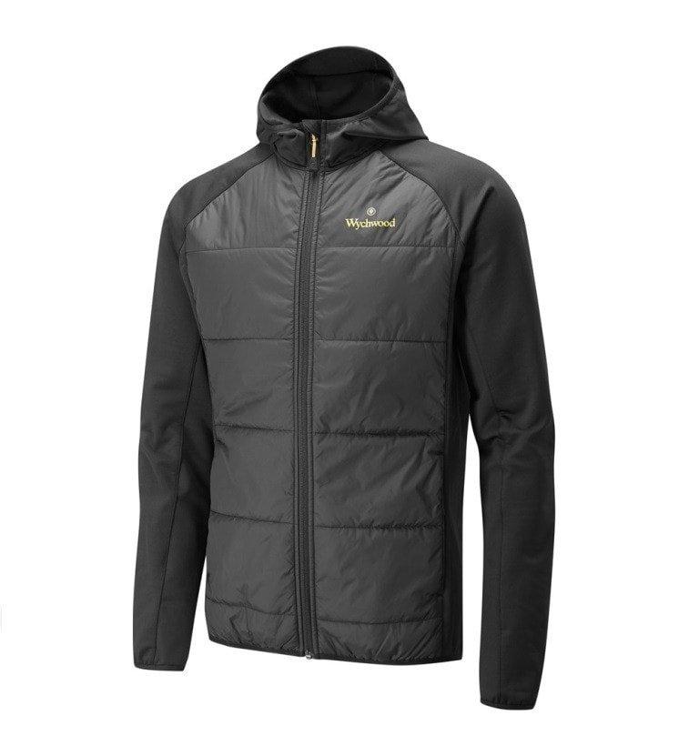 Černo-šedá rybářská bunda Wychwood
