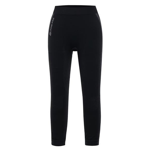 Černé dámské funkční kalhoty Alpine Pro - velikost XS-S