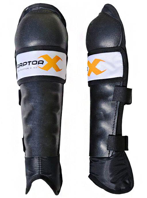 Černé hokejbalové chrániče  holení Raptor-X