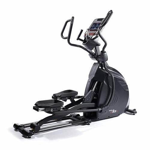 Eliptický trenažér E95S, Sole Fitness - nosnost 150 kg