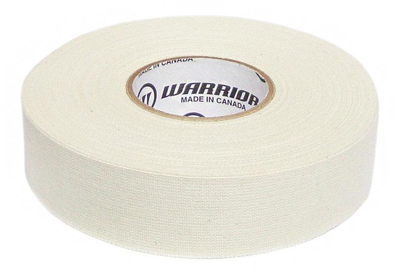 Hokejová páska - Izolace na hokejky Warrior 25 m x 25 mm Barva: bílá