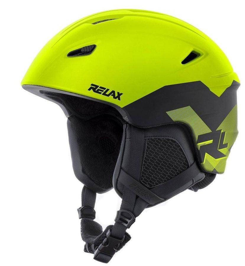Žlutá dámská lyžařská helma Relax