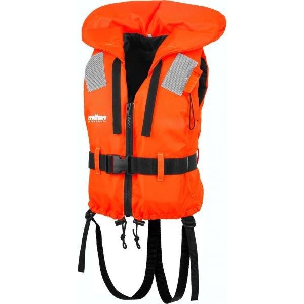 Oranžová dětská záchranná vesta Miton