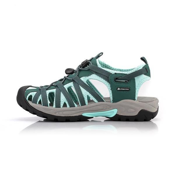 Zelené sandály Alpine Pro - velikost 37 EU