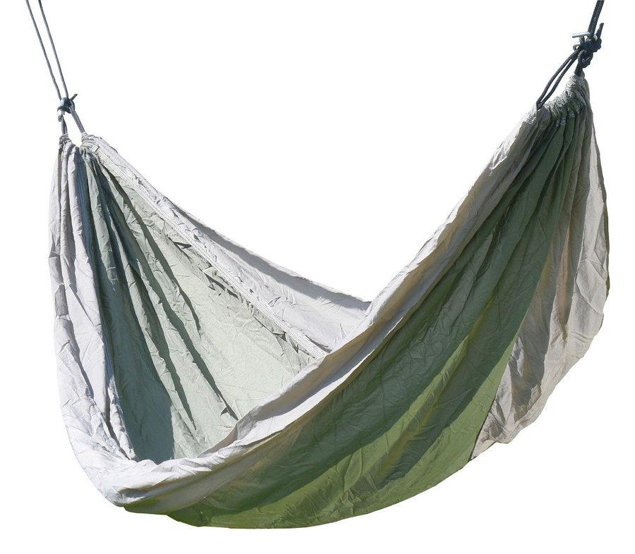 Zelená houpací síť pro 1 osobu Cattara
