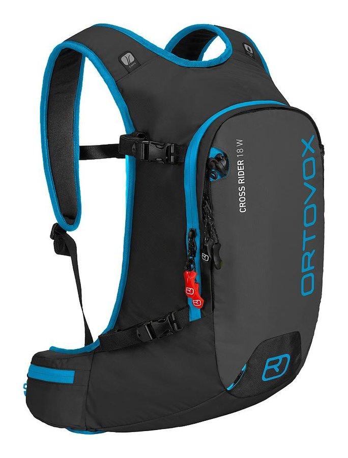 Černý turistický batoh Ortovox - objem 18 l