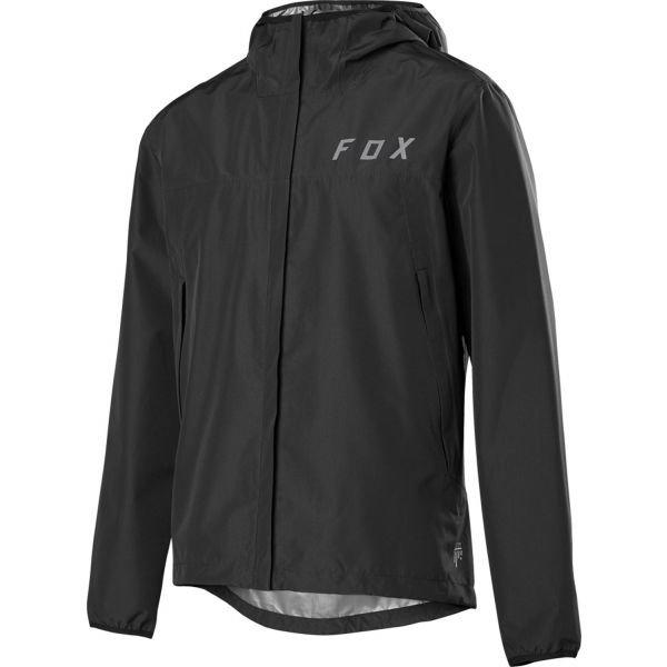 Černá pánská cyklistická bunda Fox - velikost S